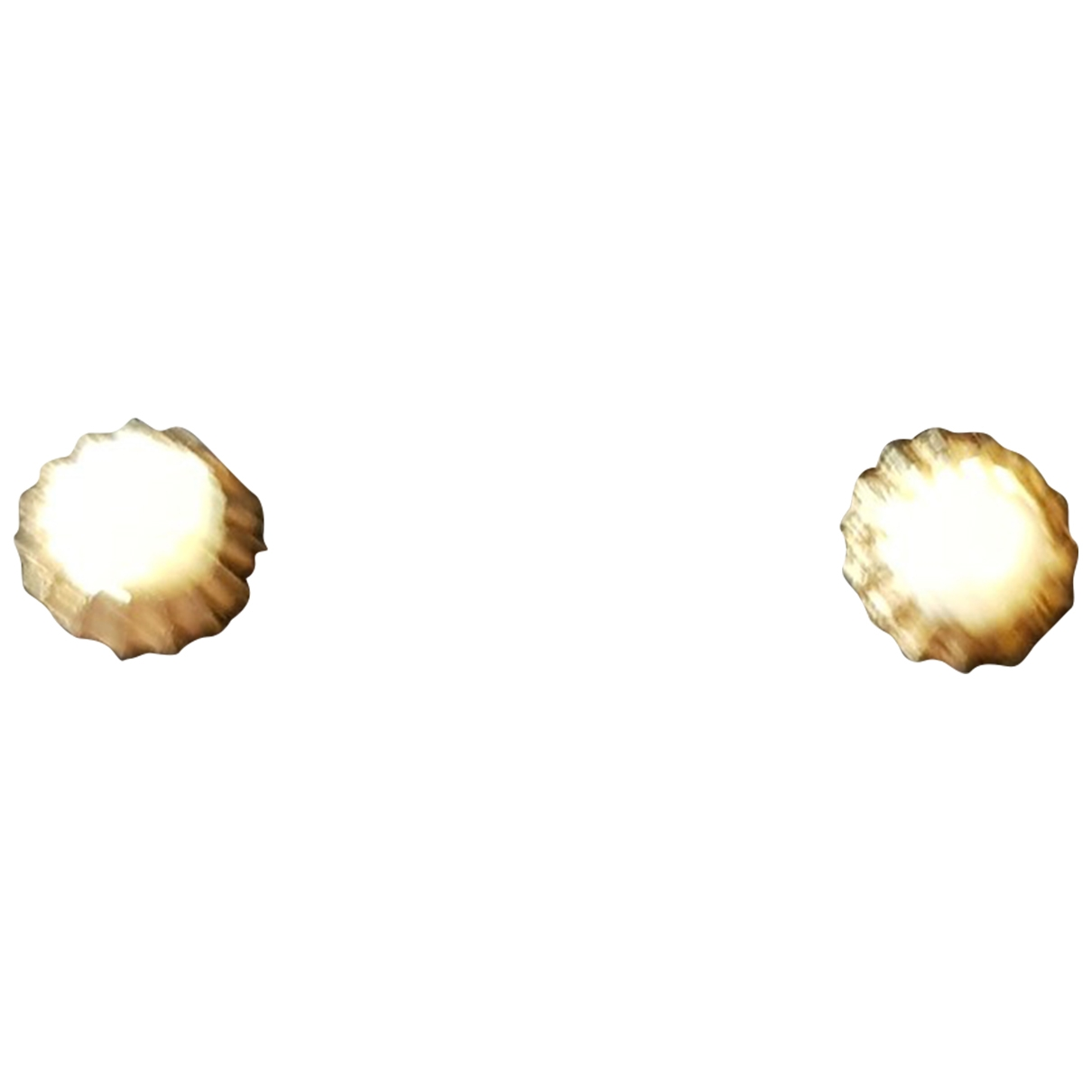 Non Signé / Unsigned \N Gold Pearls Earrings for Women \N
