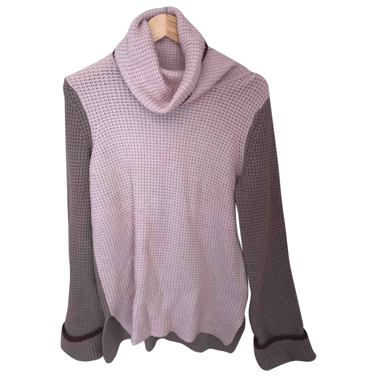 Anthropologie \N Pullover in  Rosa Synthetik