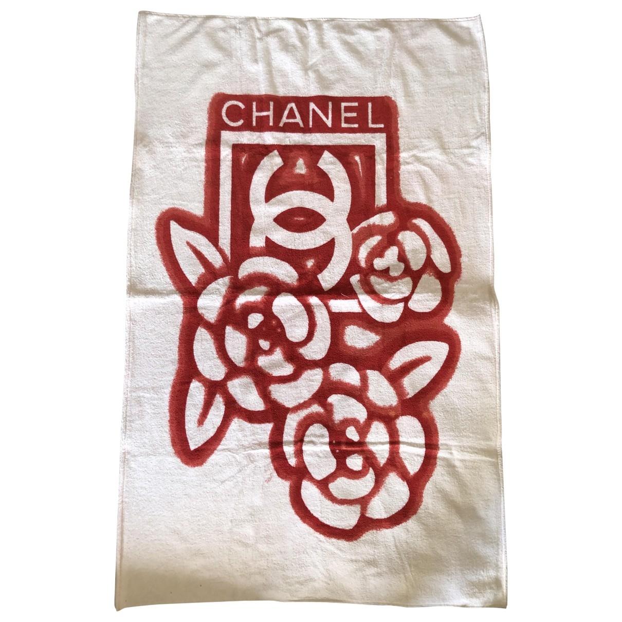 Chanel \N Reisen in  Rot Baumwolle