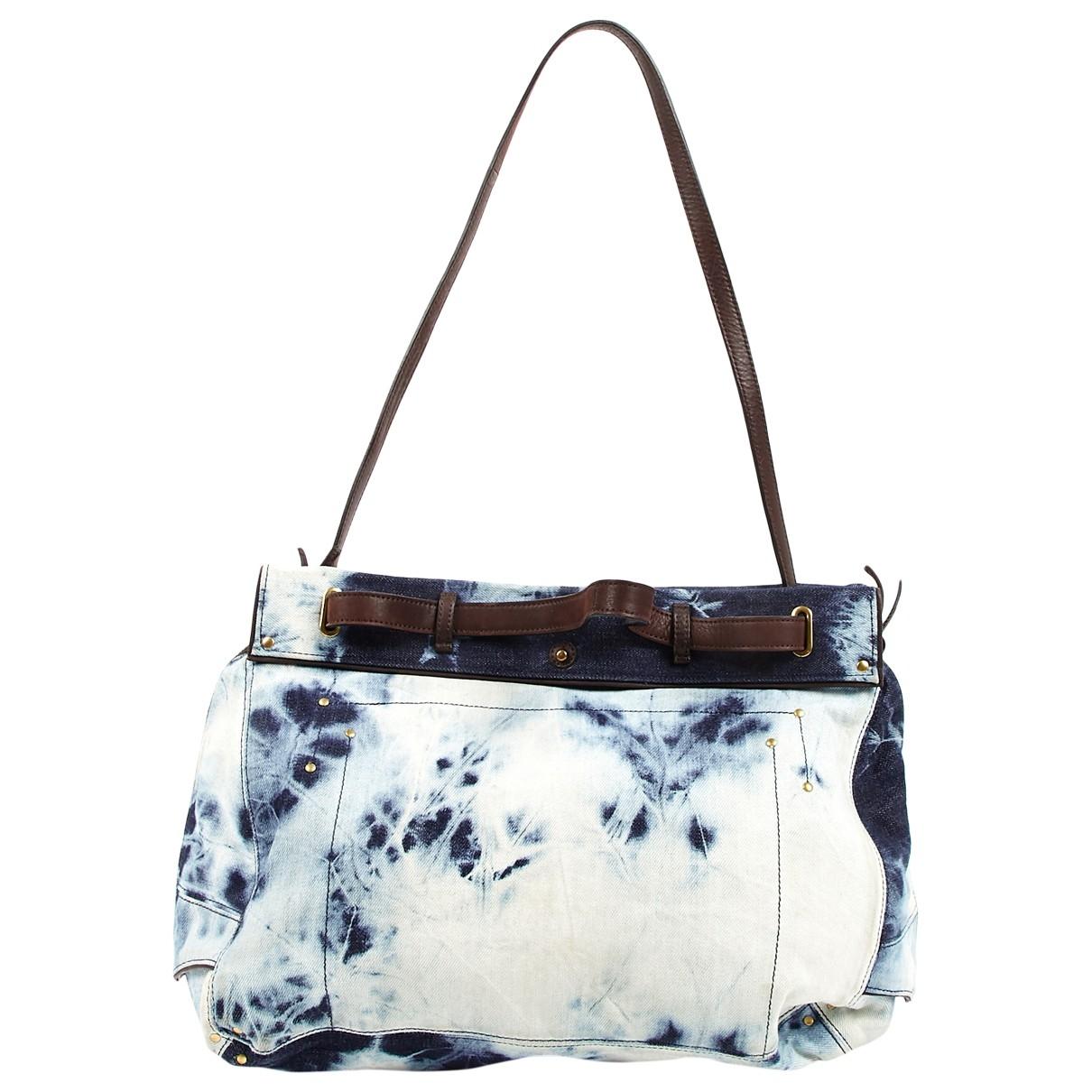 Jerome Dreyfuss \N Blue Denim - Jeans handbag for Women \N