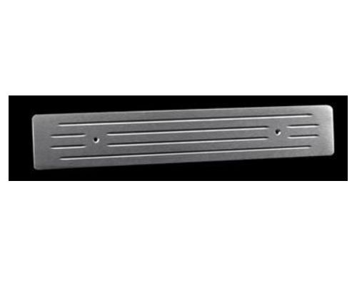 AMI Ball Milled Front Door Sill Plates Brushed 9203