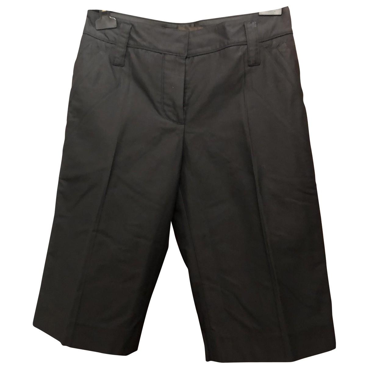 Louis Vuitton \N Shorts in  Schwarz Baumwolle