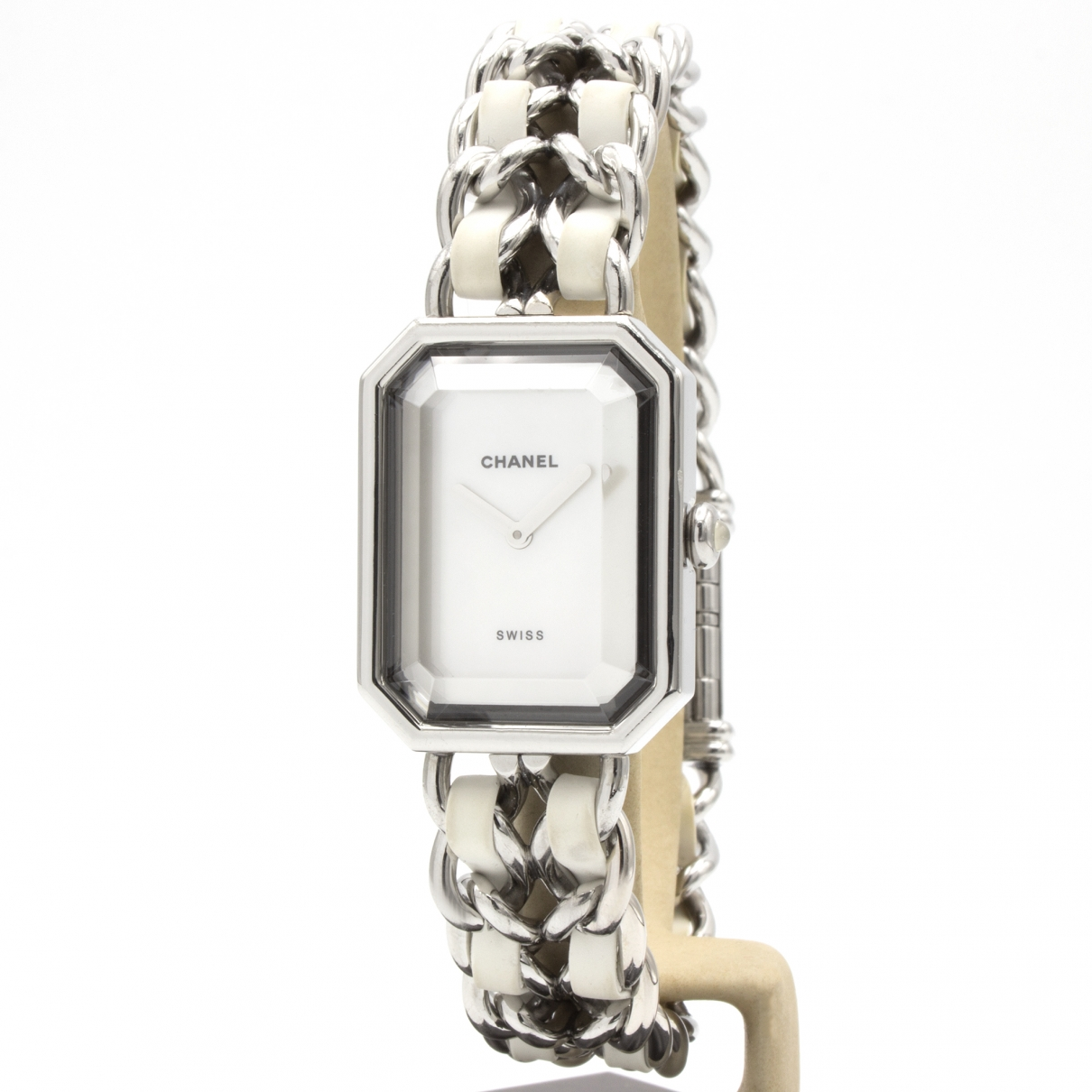 Chanel Premiere Rock Uhr in  Silber Stahl