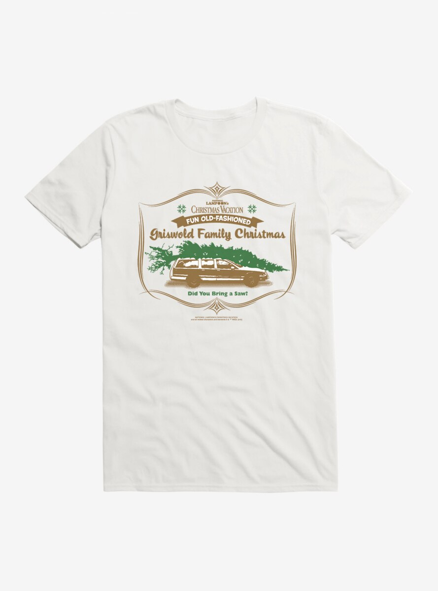 National Lampoon's Christmas Vacation Griswold Family Tree T-Shirt