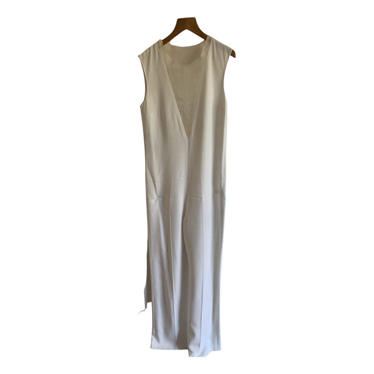 Joseph N White Cotton jumpsuit for Women 8 UK