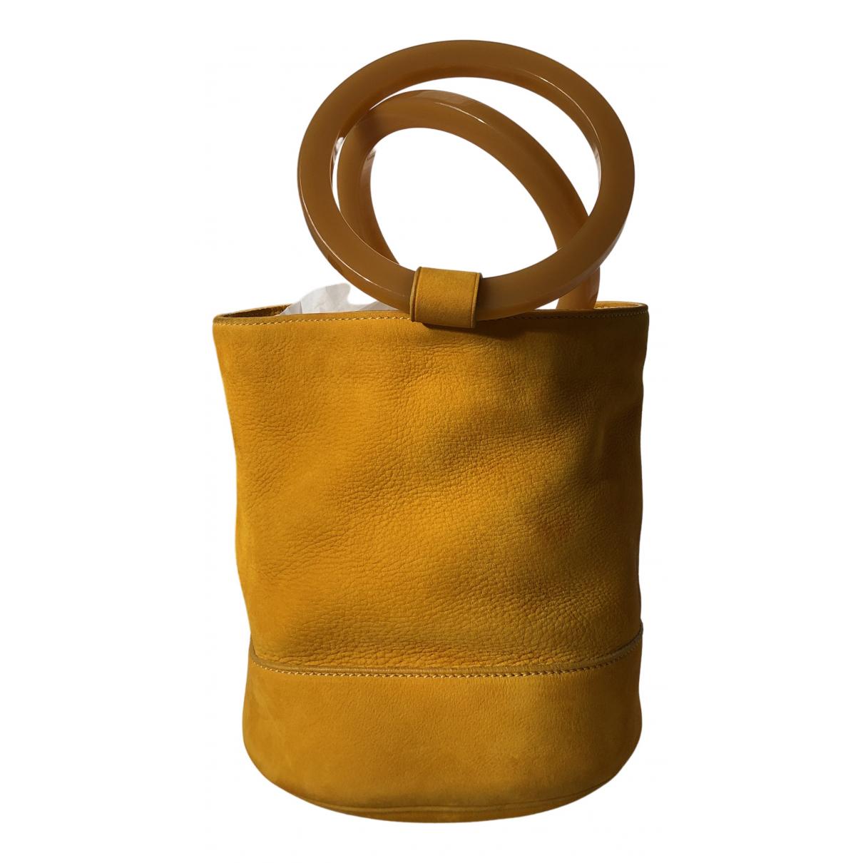 Simon Miller Medium Bonsai Orange Leather handbag for Women N