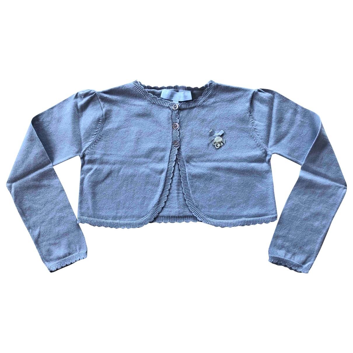 Tartine Et Chocolat \N Grey Cotton Knitwear for Kids 8 years - up to 128cm FR