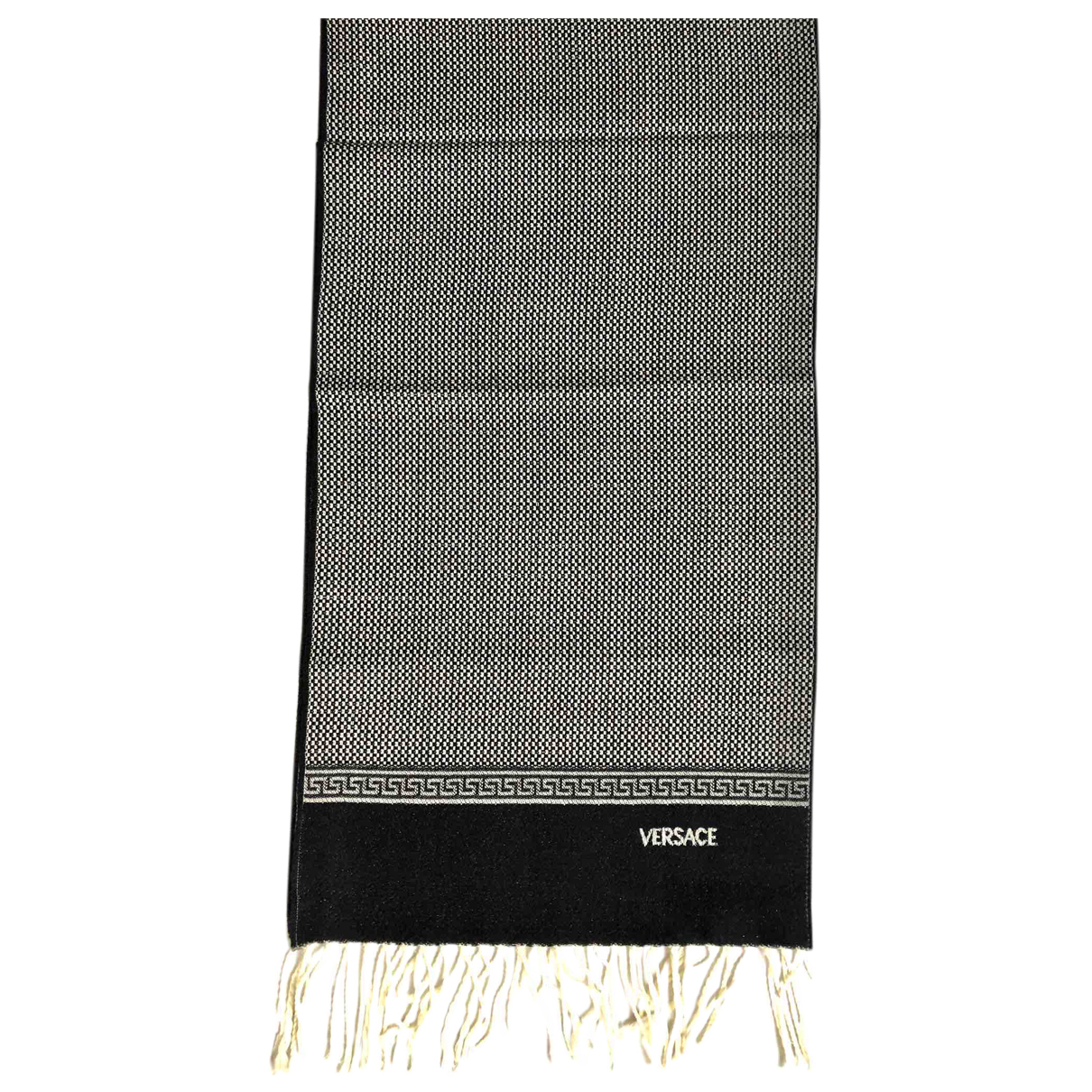 Versace N Grey Wool scarf for Women N