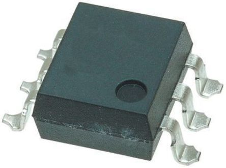 Vishay , 4N35-X009T DC Input Phototransistor Output Dual Optocoupler, Surface Mount, 6-Pin SMD (25)