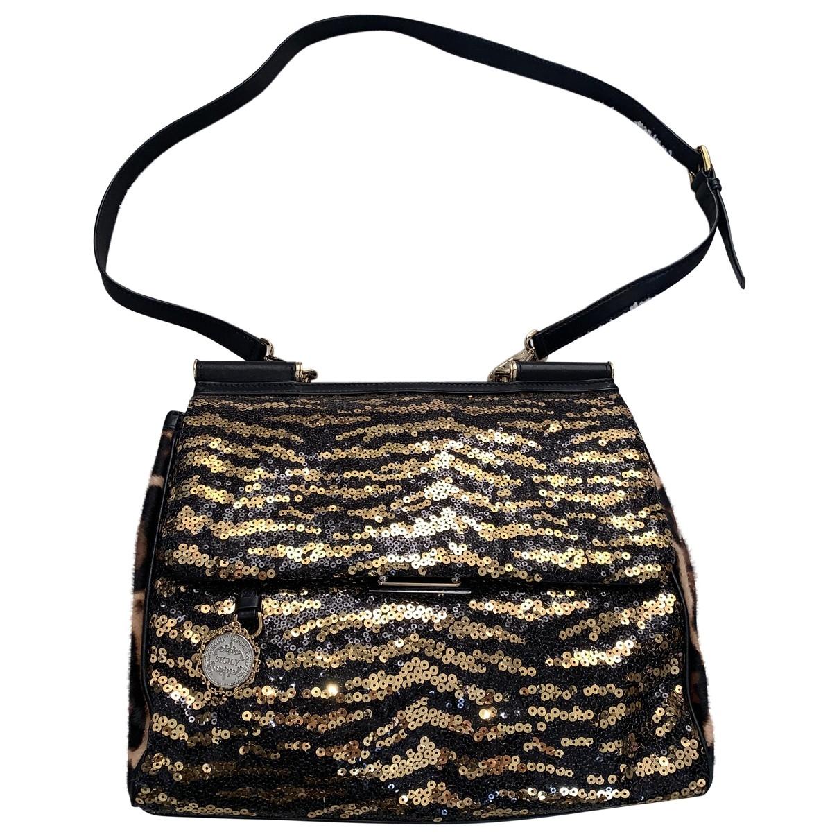 Dolce & Gabbana Sicily Glitter handbag for Women \N