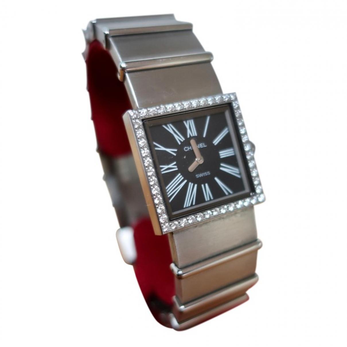Chanel Mademoiselle Silver Steel watch for Women \N