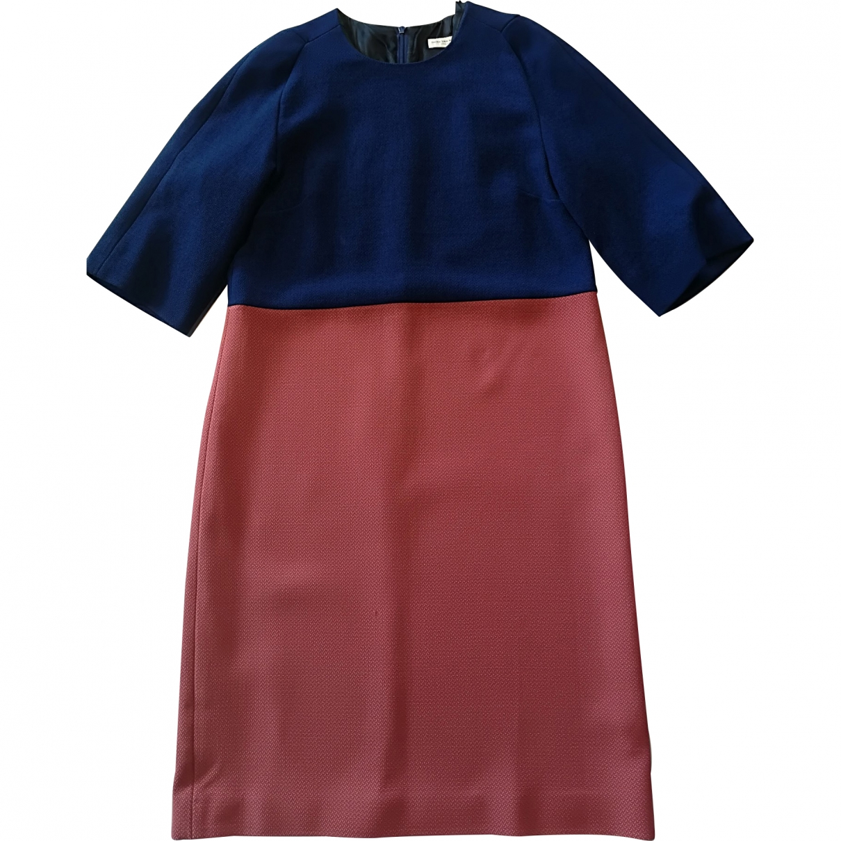 Dries Van Noten \N Multicolour Wool dress for Women 38 IT