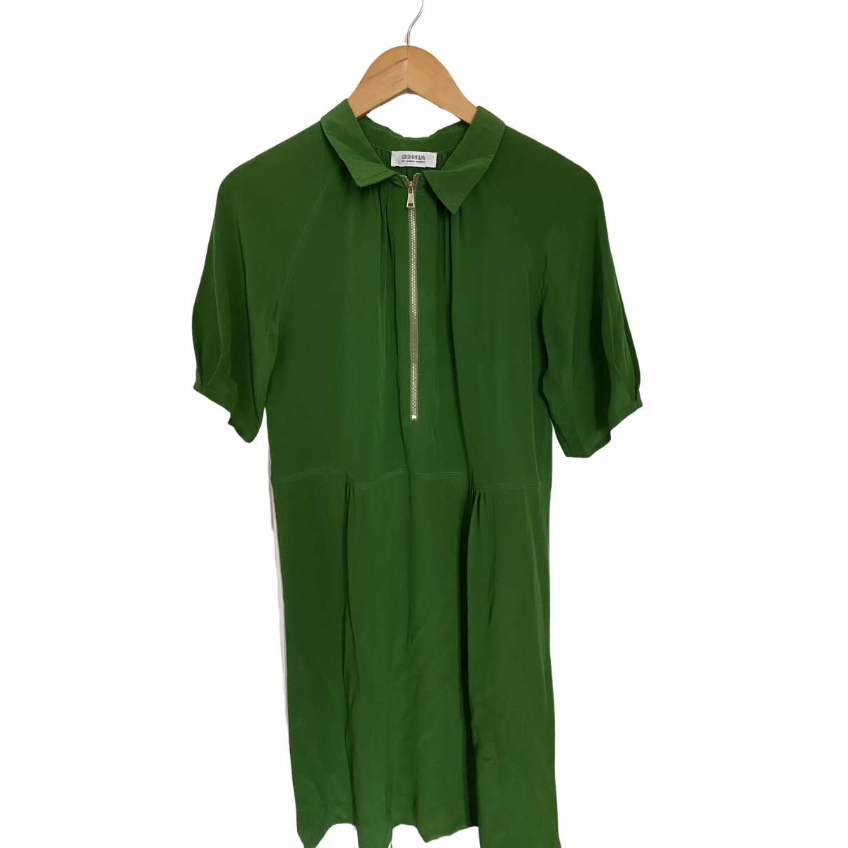 Sonia By Sonia Rykiel - Robe   pour femme en soie - vert