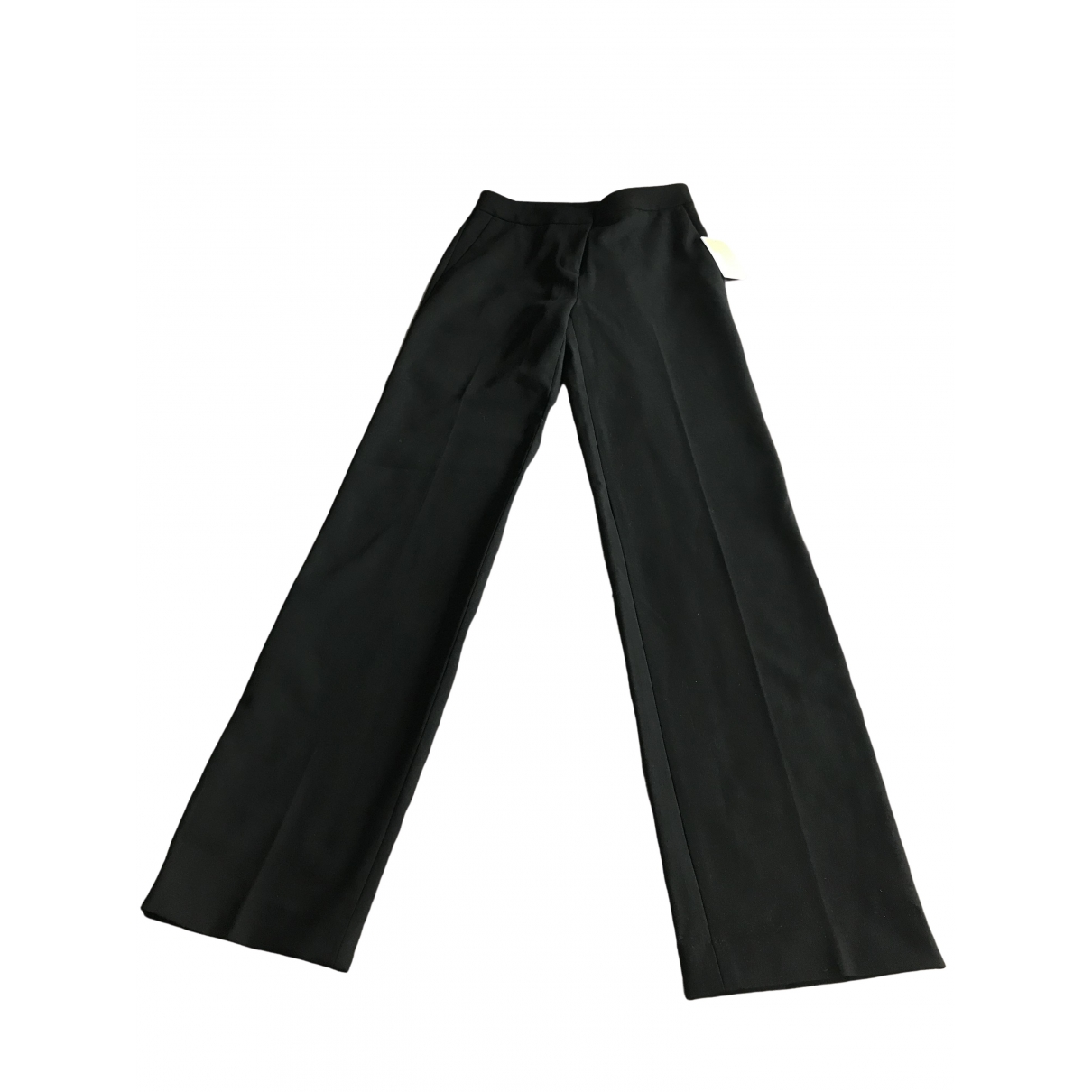 Michael Kors \N Black Wool Trousers for Women 8 UK