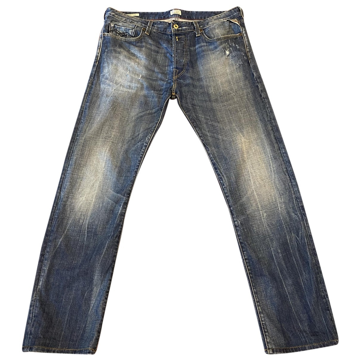 Replay \N Blue Jeans for Men 34 US