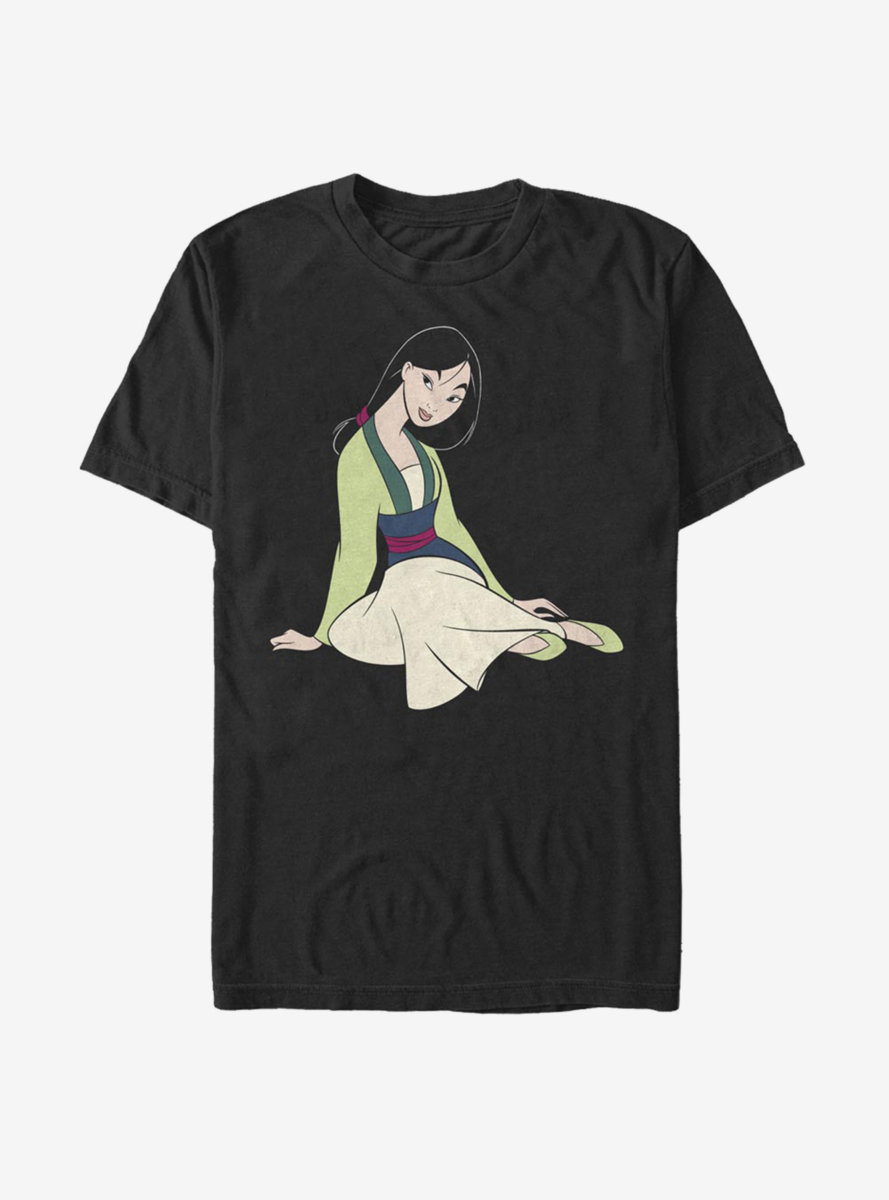 Disney Mulan Warrior Princess T-Shirt