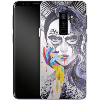 Samsung Galaxy S9 Plus Silikon Handyhuelle - Janus von Minjae Lee