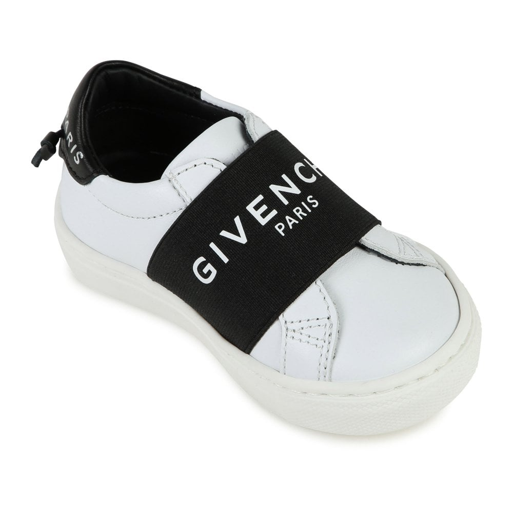 Givenchy Baby Strap Logo Trainers Size: EU27, Colour: WHITE