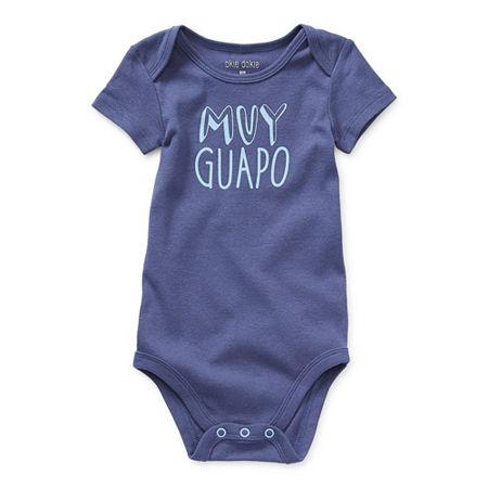 Okie Dokie Baby Boys Bodysuit, 3 Months , Blue