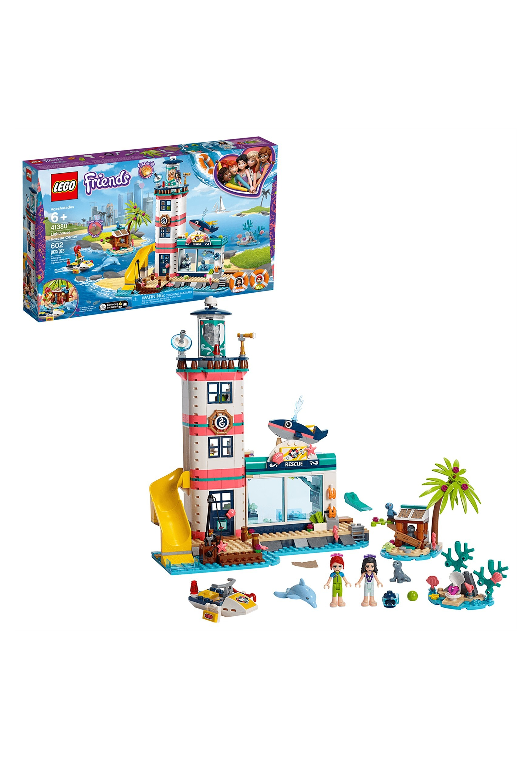 Friends LEGO Lighthouse Rescue Center