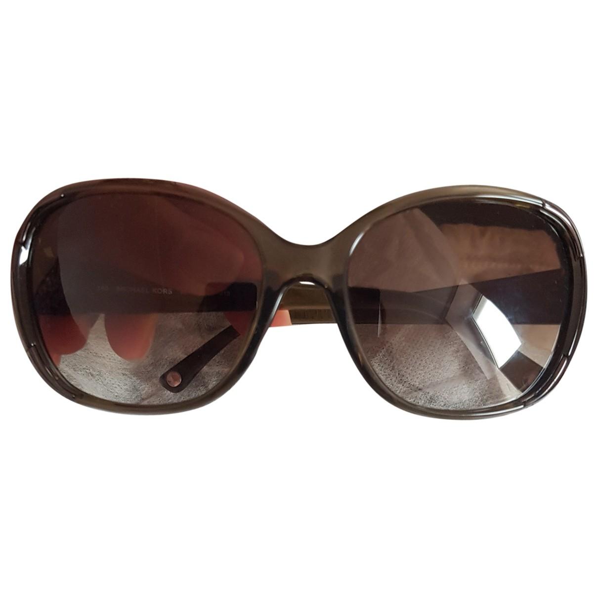 Michael Kors \N Sonnenbrillen in  Grau Kunststoff
