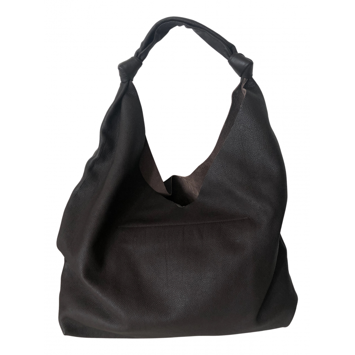 The Row Bindle Brown Leather handbag for Women N
