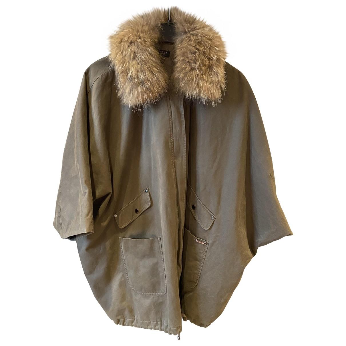 Twin Set \N Khaki Cotton coat for Women M International