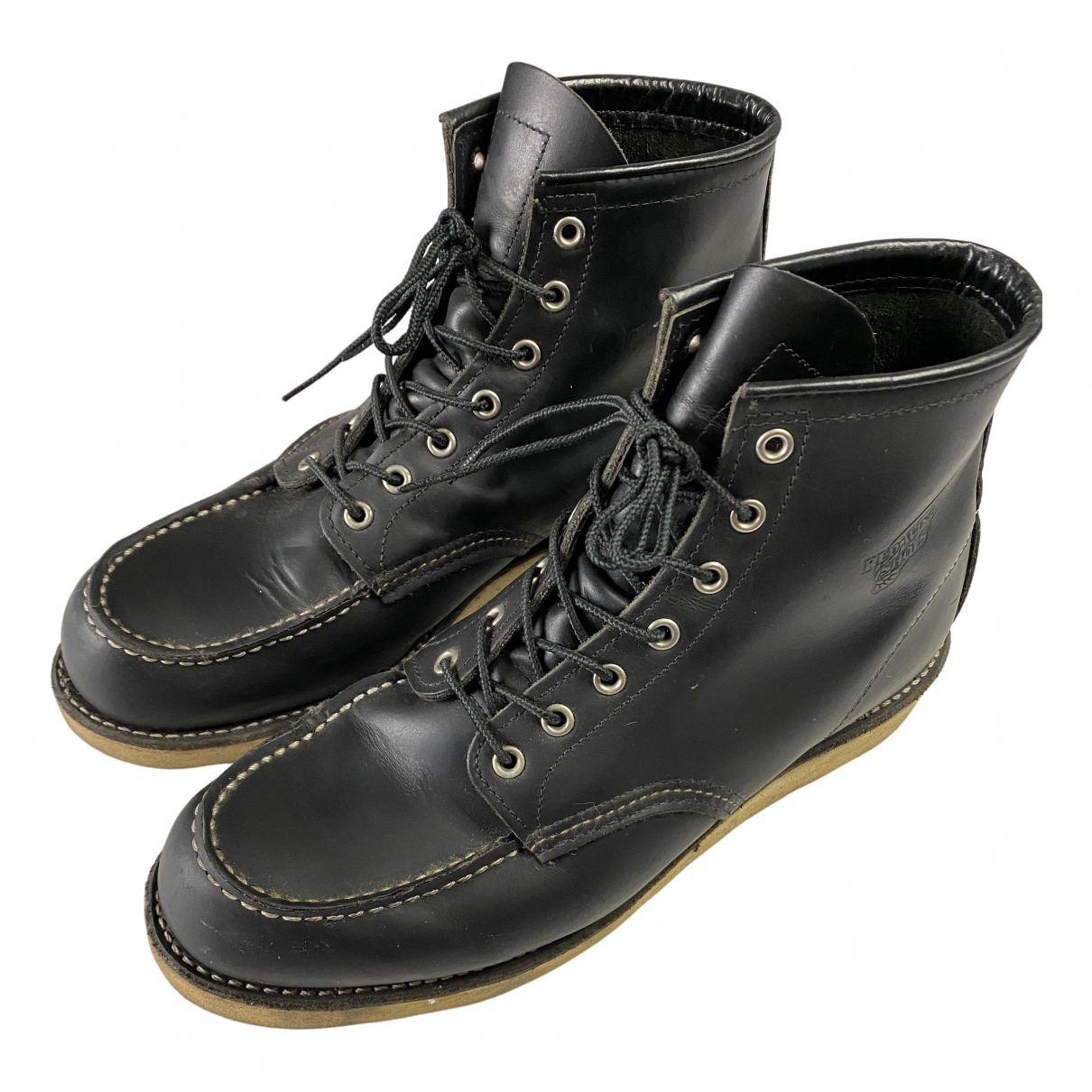 Red Wings \N Black Leather Boots for Men 44 EU