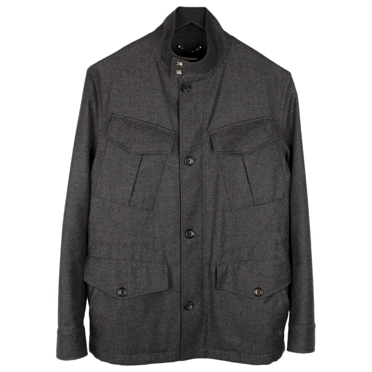 Louis Vuitton - Vestes.Blousons   pour homme en laine - gris