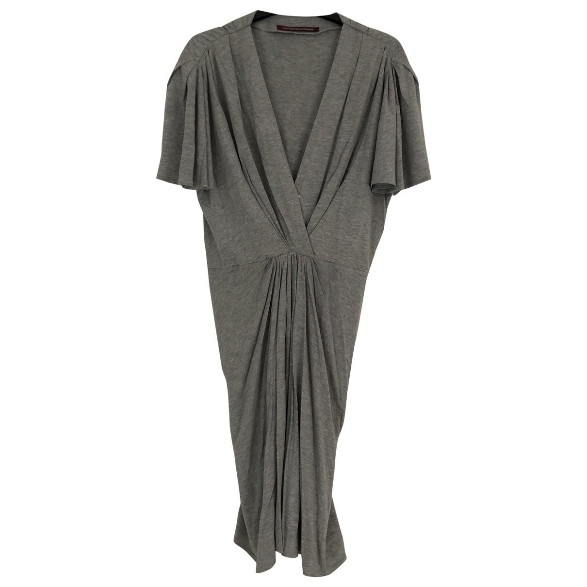 Comptoir Des Cotonniers \N Kleid in  Grau Baumwolle