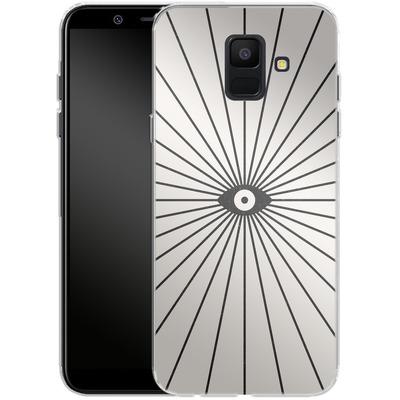 Samsung Galaxy A6 Silikon Handyhuelle - Big Brother von Florent Bodart
