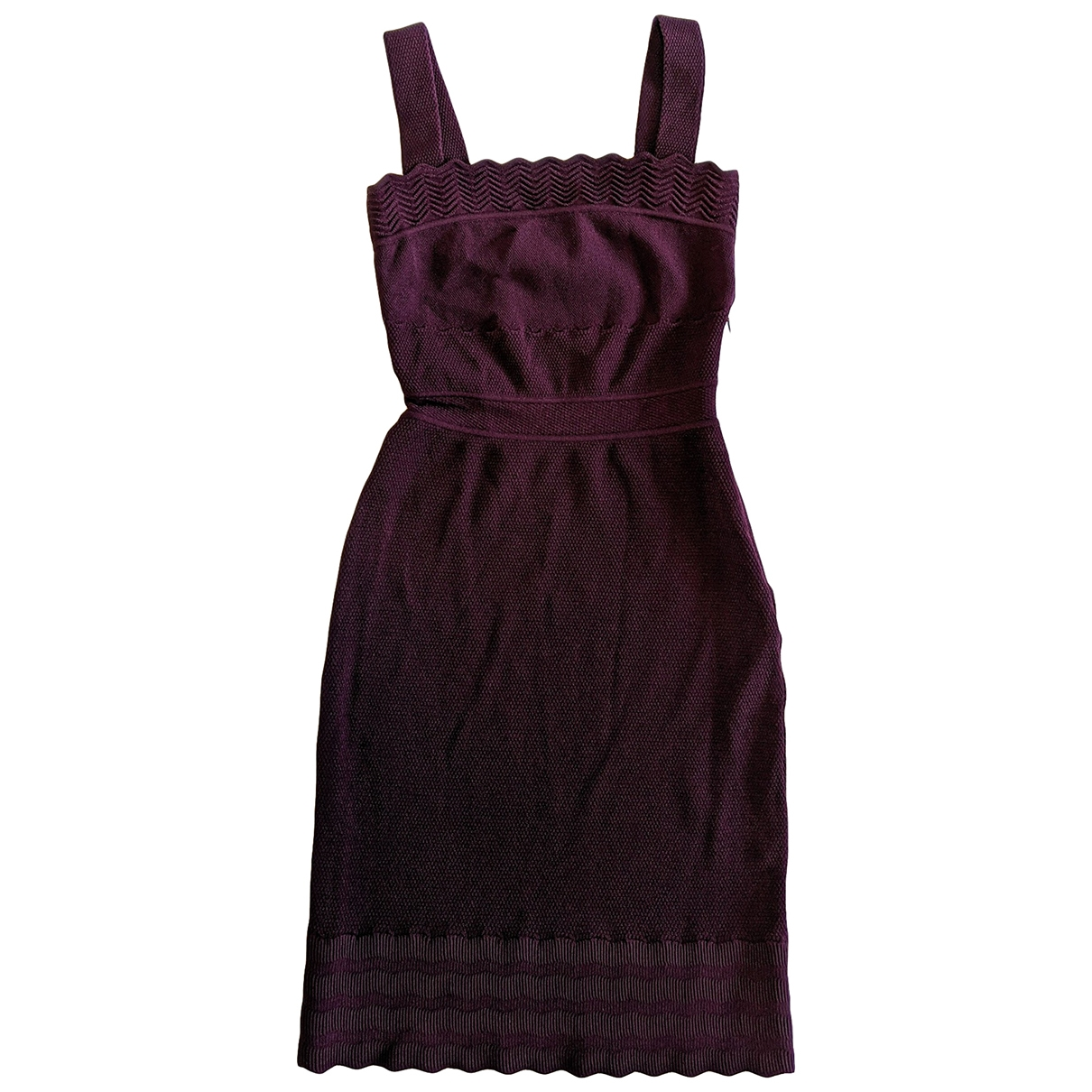 Dior \N Purple dress for Women 36 FR