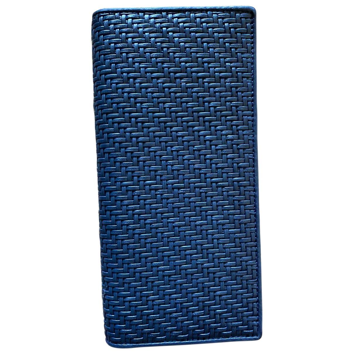 Ermenegildo Zegna - Petite maroquinerie   pour homme en cuir - bleu