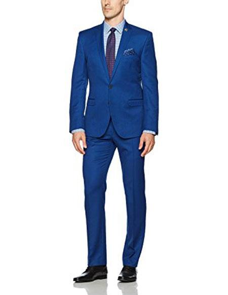 Alberto Nardoni Royal blue ~ Indigo Suit