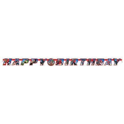 Avengers 1 Large Jointed Banner For Birthday Party