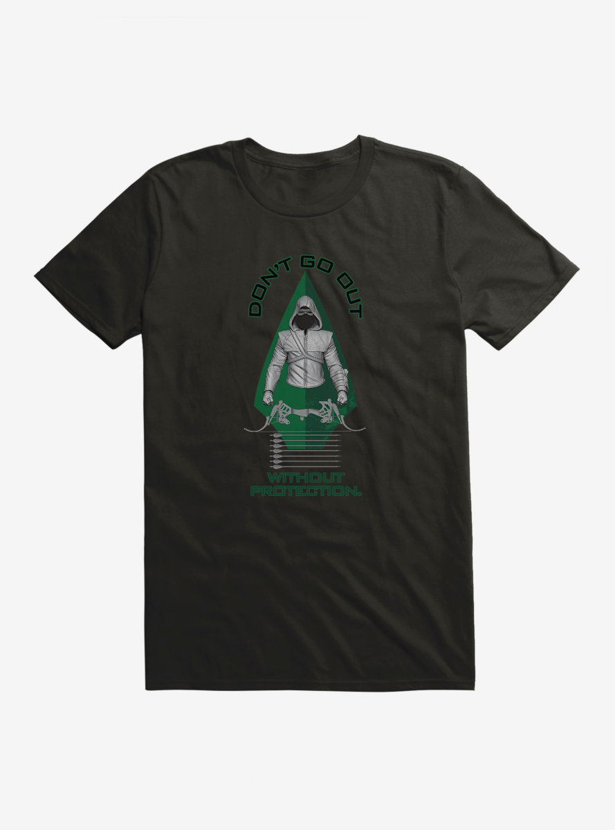 DC Comics Arrow Stay Protected T-Shirt
