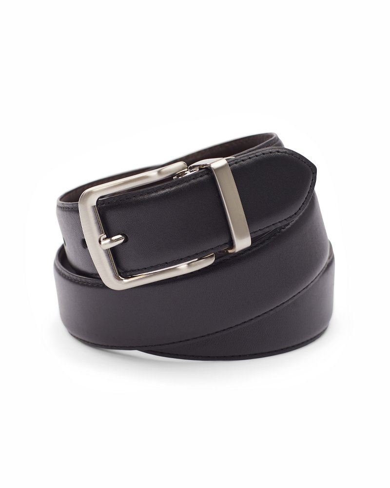 Smooth Leather Reversible Belt