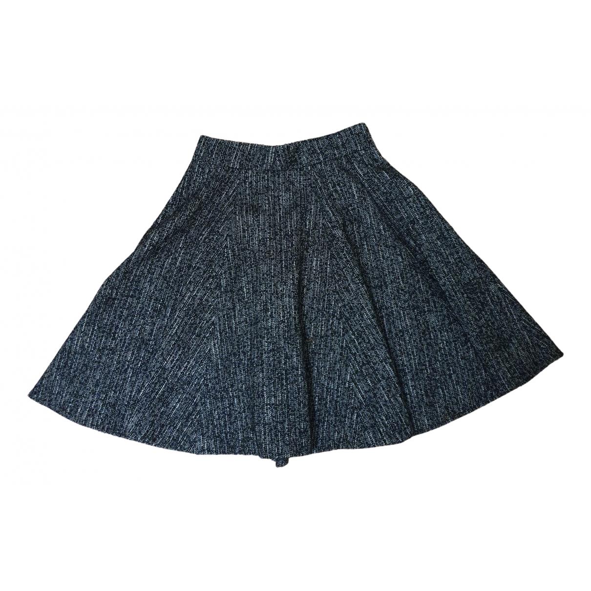 Anne Fontaine - Jupe   pour femme en laine - gris