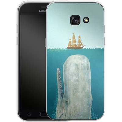 Samsung Galaxy A5 (2017) Silikon Handyhuelle - The Whale von Terry Fan