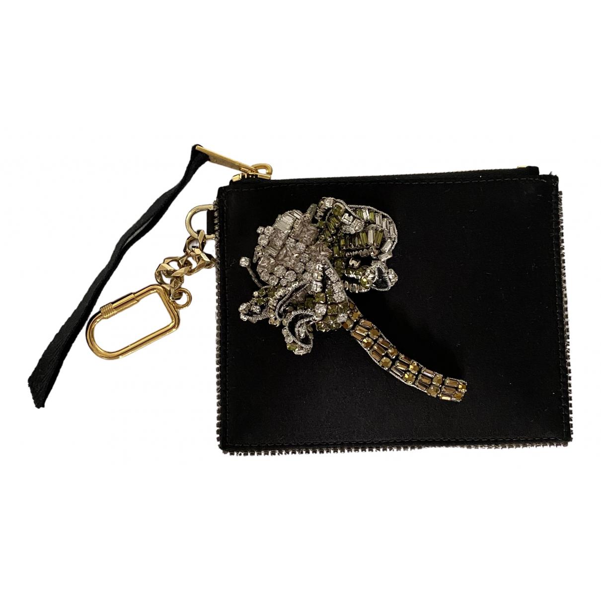 N°21 \N Black Silk Purses, wallet & cases for Women \N