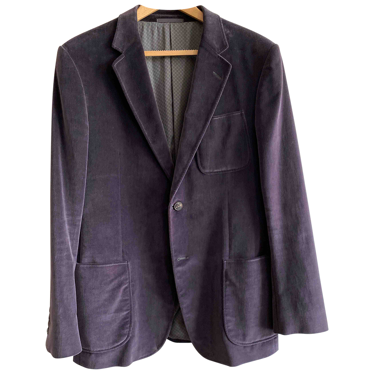 Gucci \N Burgundy Cotton jacket  for Men 50 IT