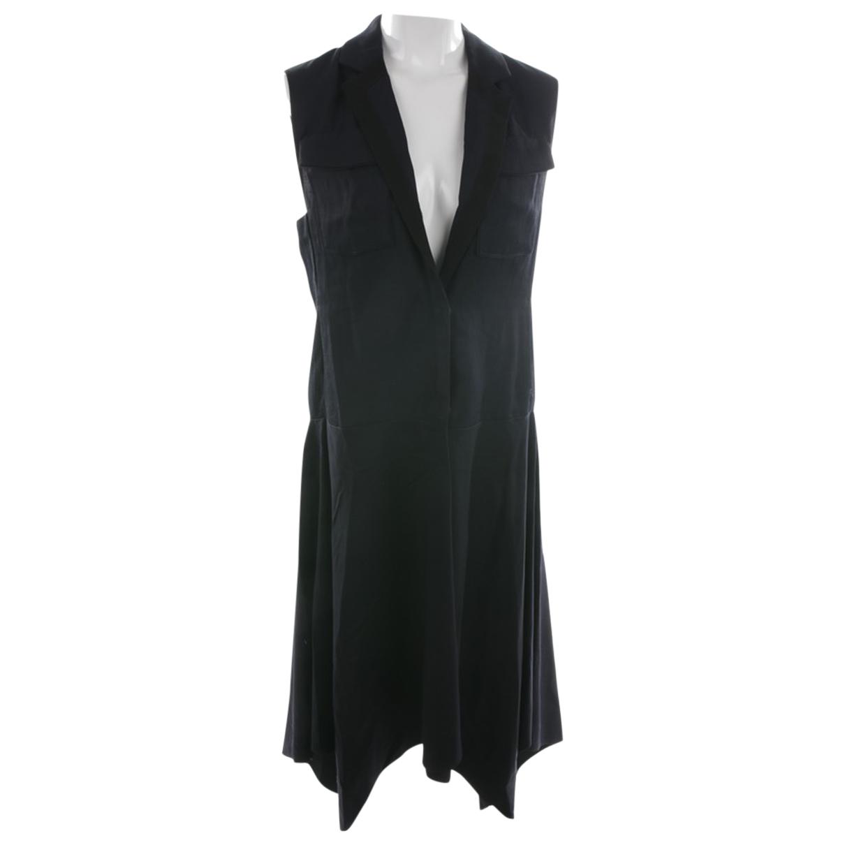 Dorothee Schumacher - Robe   pour femme en laine - bleu