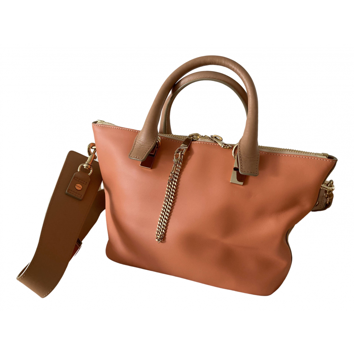 Chloé Baylee Camel Leather handbag for Women \N