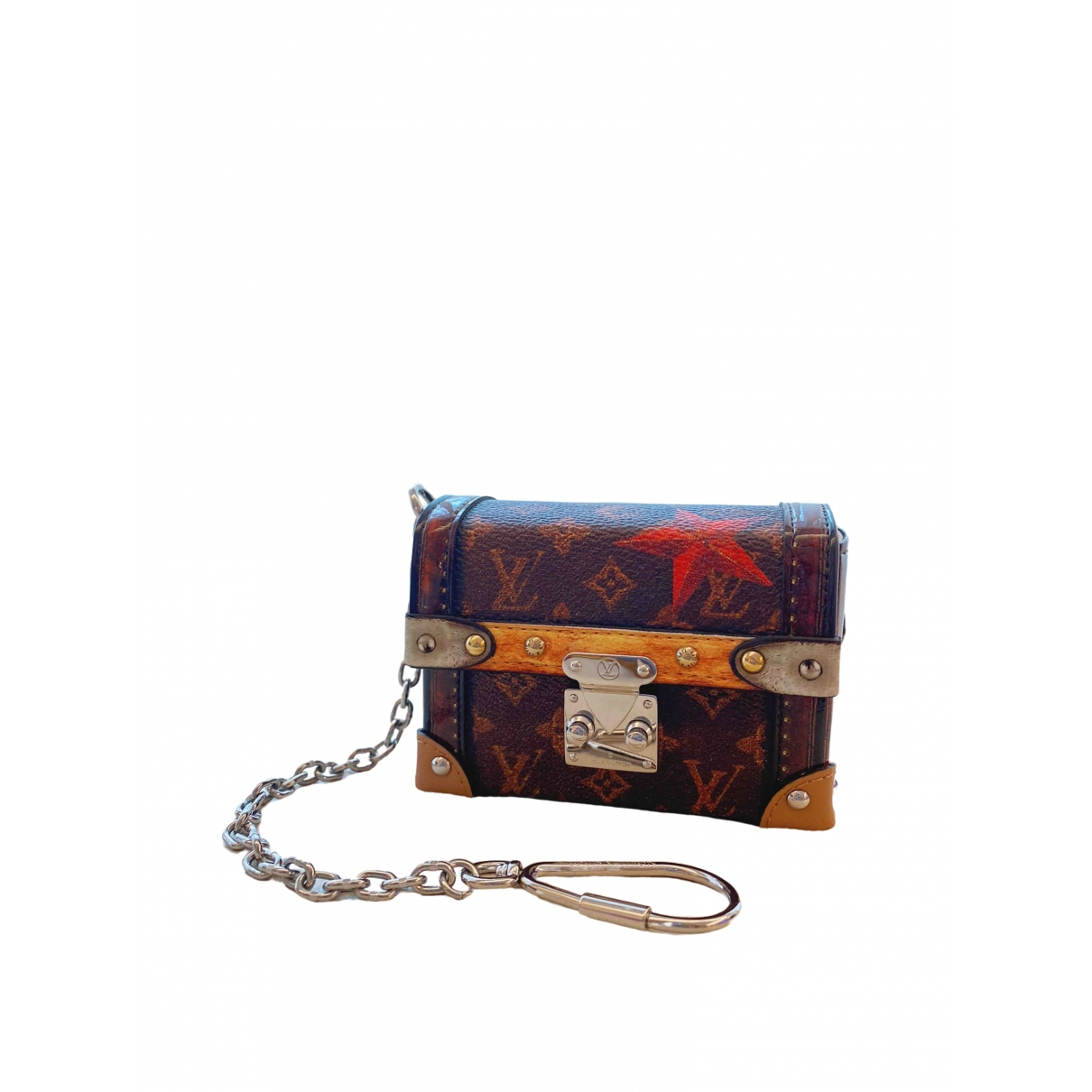 Louis Vuitton Essential Trunk Brown Leather Clutch bag for Women \N