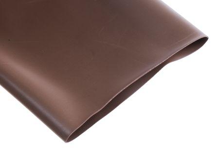 RS PRO Heat Shrink Tubing, Brown 50.8mm Sleeve Dia. x 1.2m Length 2:1 Ratio (5)