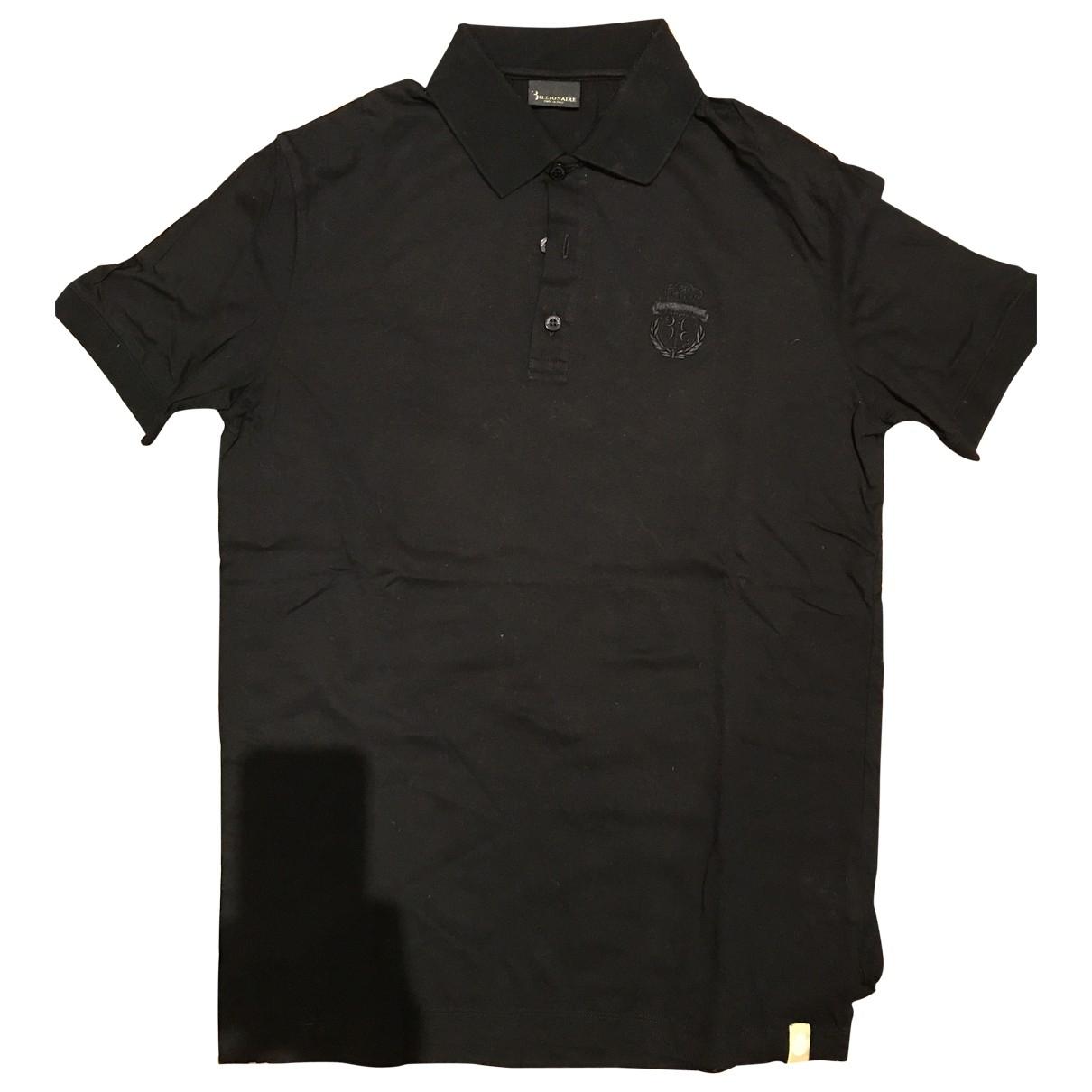 Billionaire Boys Club - Polos   pour homme en coton - noir