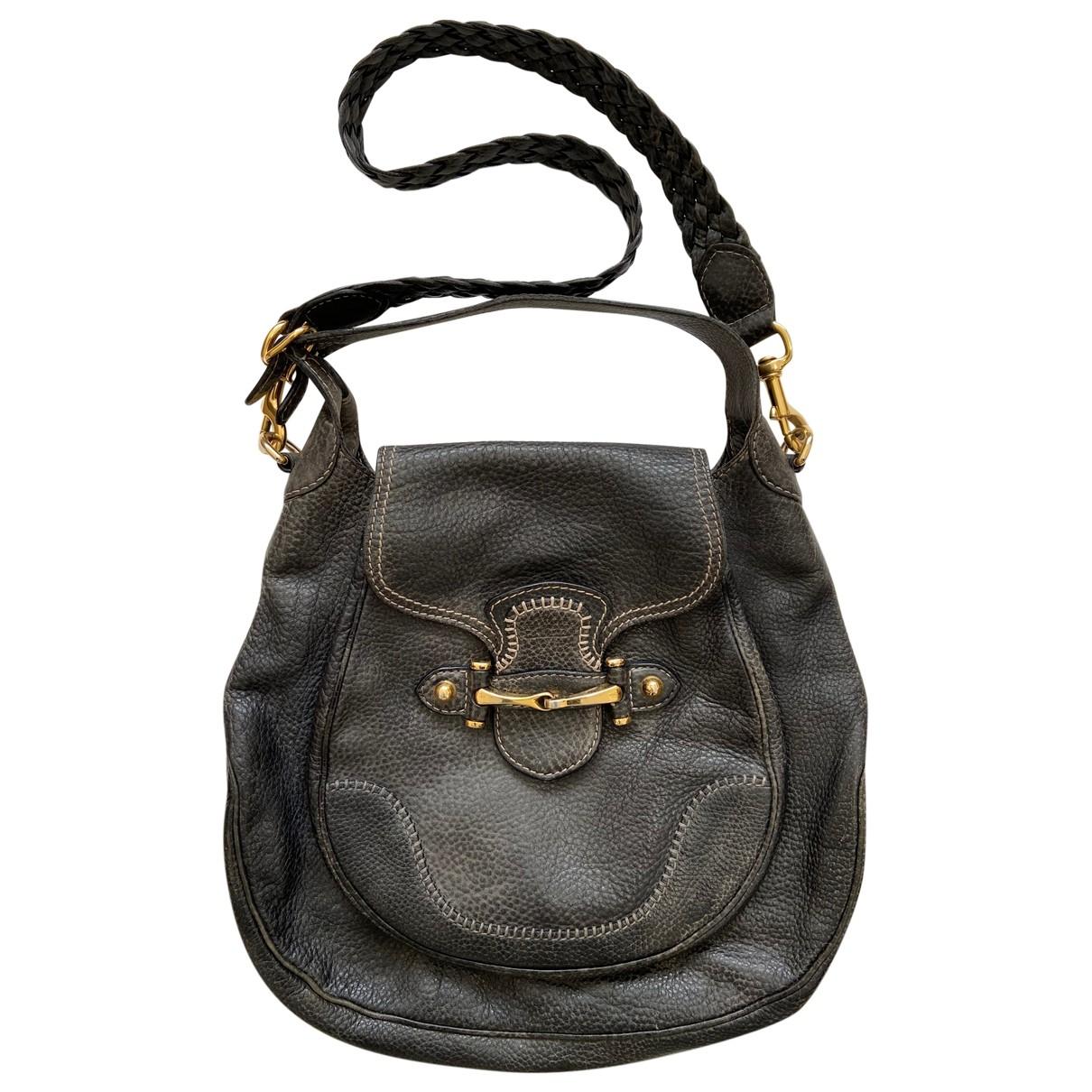 Gucci Pelham Black Leather handbag for Women \N