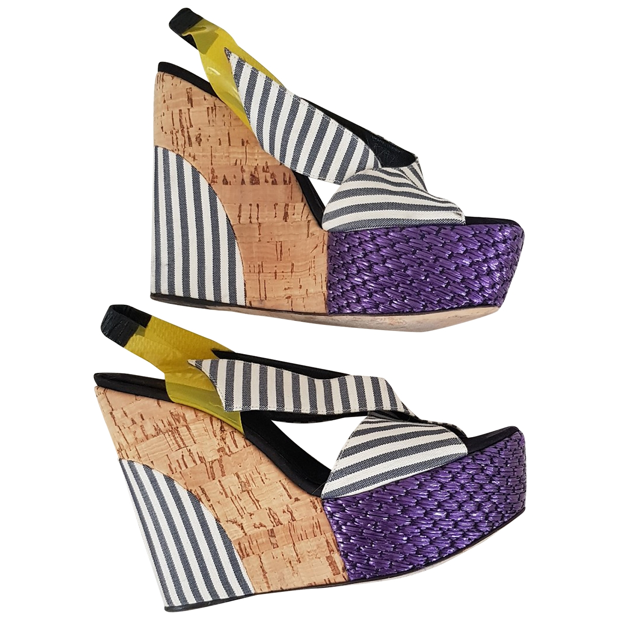 Sandalias de Lona Dolce & Gabbana
