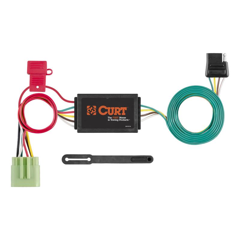 Curt 55369 Custom Wiring Connector (4-Way Flat Output)