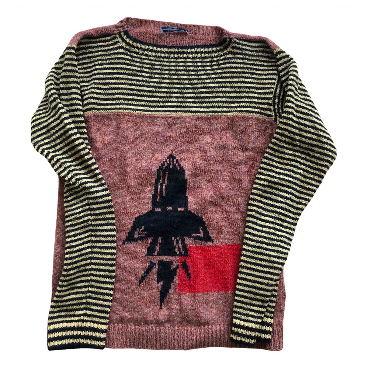 Prada \N Pullover.Westen.Sweatshirts  in  Braun Wolle
